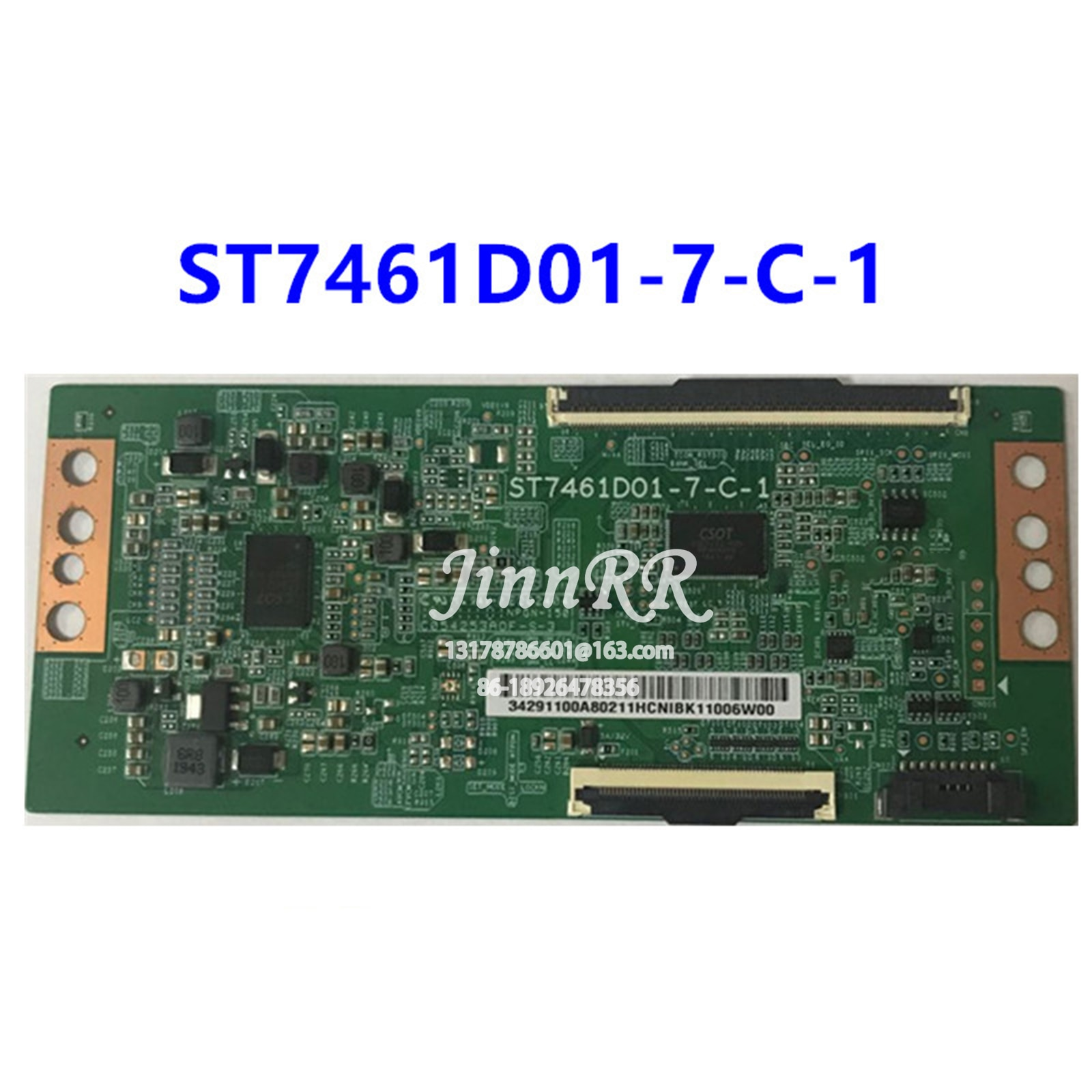 ST7461D01-7-C-1 الأصلي اللاسلكية ل 4K 60HZ المنطق مجلس اختبار صارم ضمان جودة ST7461D01-7-C-1