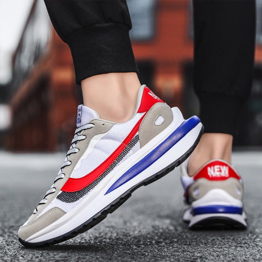 New style casual sports men's shoesfour seasons fitness jogging shoeslight and breathable net running shoes, Forrest Gump shoes