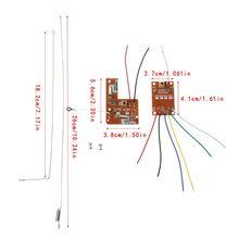 4CH RC télécommande 27MHz Circuit PCB émetteur et carte récepteur avec système Radio dantenne pour voiture camion jouet