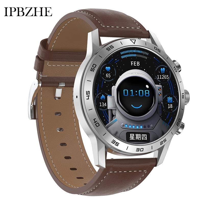 Ipbzhe Bluetooth Call Smart Watch Men Android Blood Pressure Heart Rate Smart Watch Women SmartWatch
