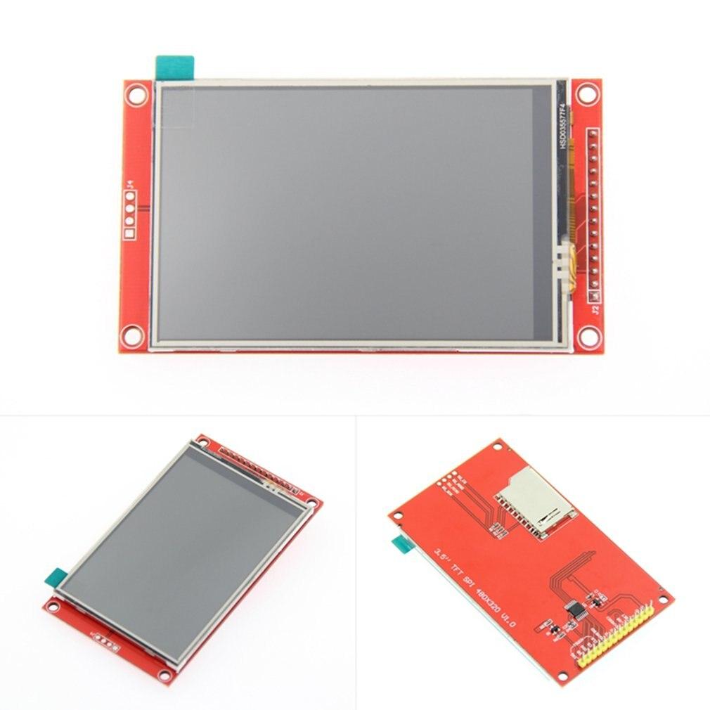 3,5 pulgadas 320*480 SPI serie módulo TFT LCD pantalla táctil óptico Panel IC ILI9341 para MCU