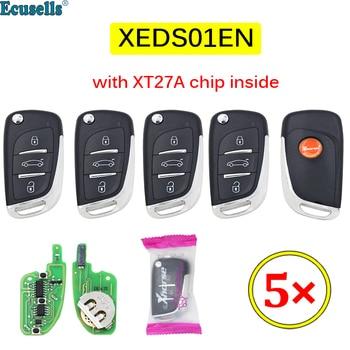 5PCS/LOT Xhorse XEDS01EN VVDI Super Remote with XT27 XT27A66 Chip Work for VVDI2 /VVDI MINI Key Tool/VVDI Key Tool Max