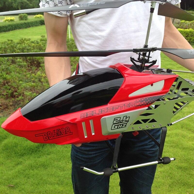 Avión teledirigido de gran calidad 2,4G 82cm Mega tamaño resistente a caídas helicóptero carga Avión juguete modelo VANT avión regalo