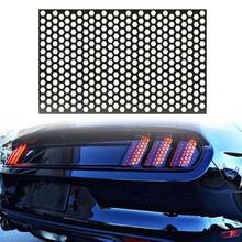 Car Rear Tail Light Honeycomb Stickers Car Exterior Accessories Taillight Lamp Cover For All Car Mod