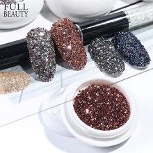 Мини-бисер с кристаллами циркония для дизайна ногтей, 1,2 мм, украшения из розового золота, 3D Подвески, Гель-лак, драгоценные камни CH757