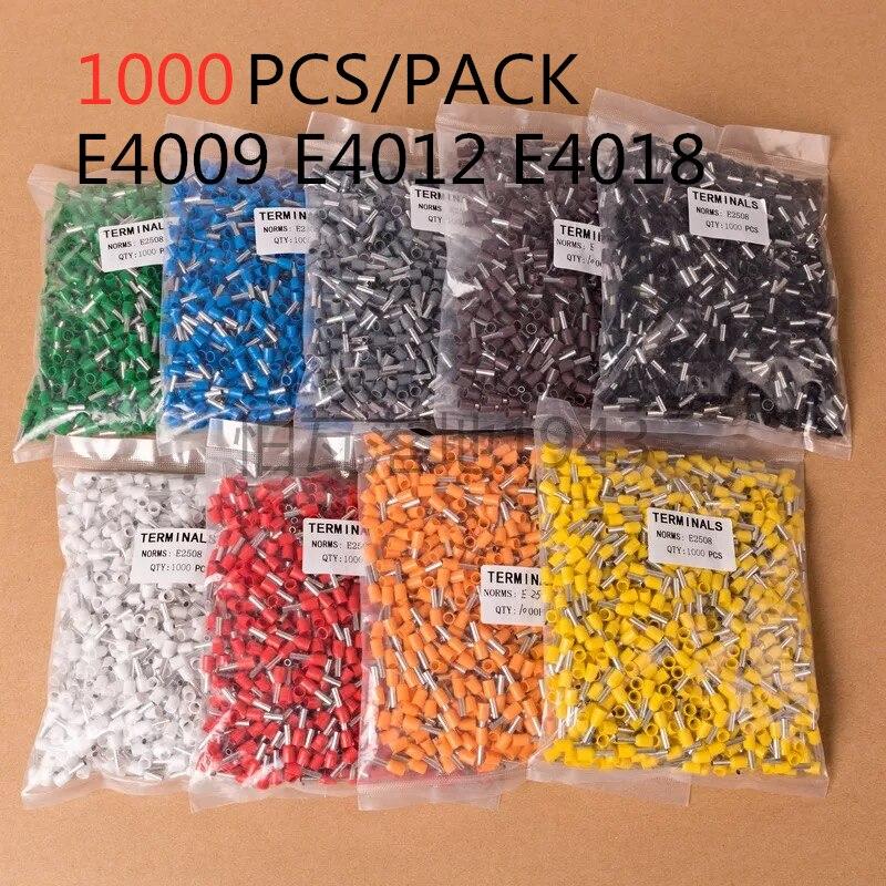 Conjunto de conectores de cable de Terminal para cables E4009, E4012, E4018,...
