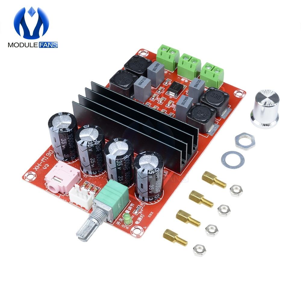 2*100W TPA3116 D2 carte amplificateur Audio numérique double canal 12 V-24 V pour Arduino TPA3116D2 Module deux canaux 100w + 100W