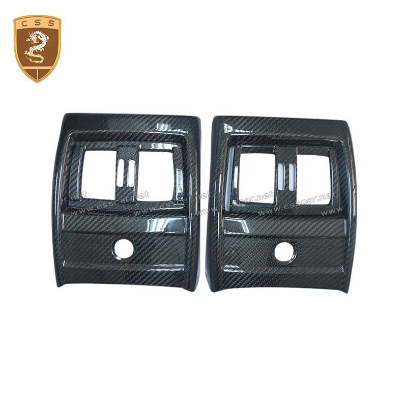 Css الديكور الأجزاء الداخلية سيارة تكييف الهواء غطاء ل Bw 3 series ors F35 الكربون الداخلية