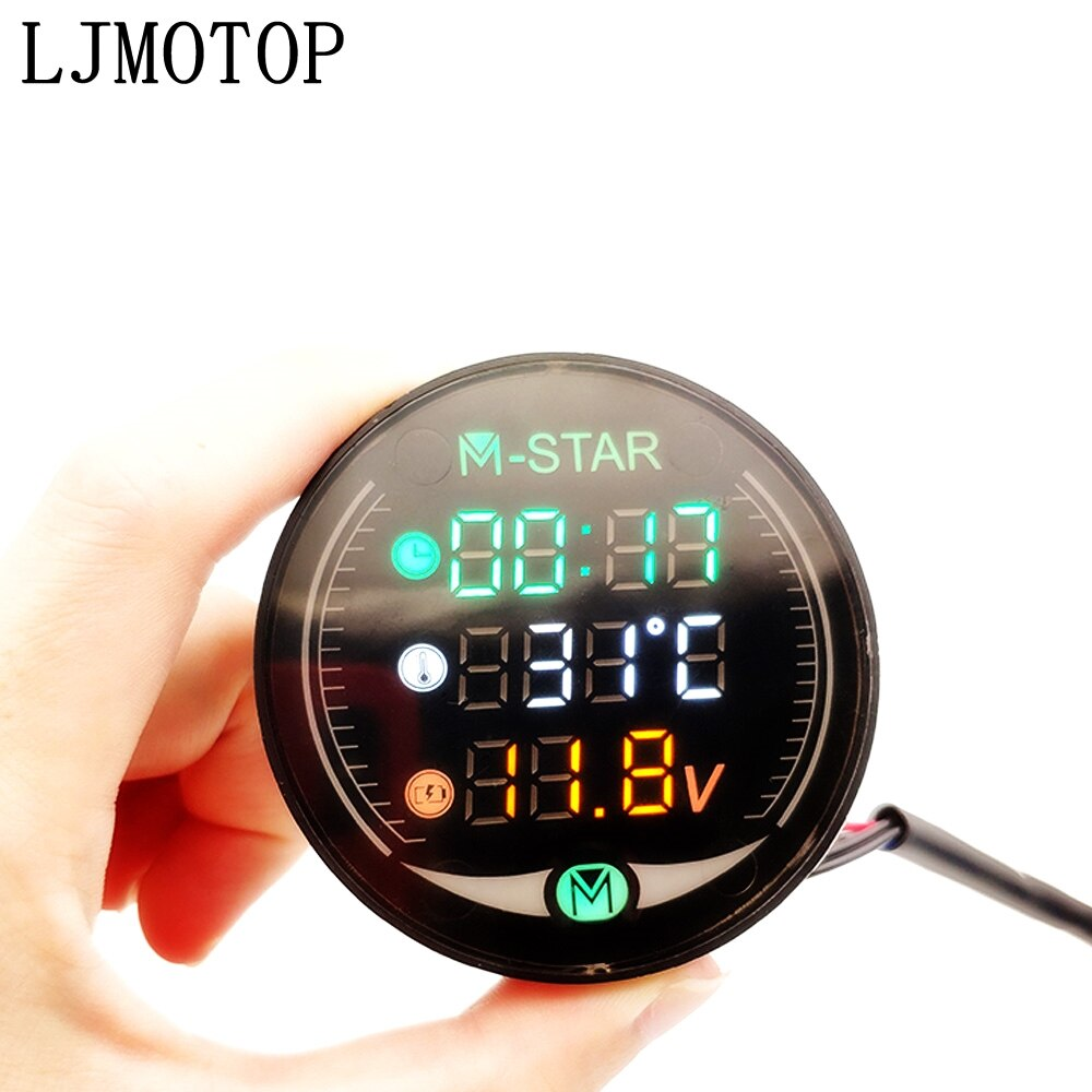 Visión nocturna, medidor de temperatura de tiempo para motocicleta, mesa de voltaje para DUCATI MULTISTRADA 1200/S/GT S4RS STREETFIGHTER/S 848