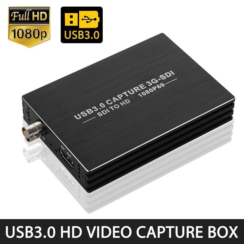 NK-M006 3G-SDI فيديو بطاقة التقاط الصوت والفيديو USB3.0 HD 1080P فيديو التقاط صندوق SDI إلى HDMI-متوافق محول محول سائق-تصميم حر