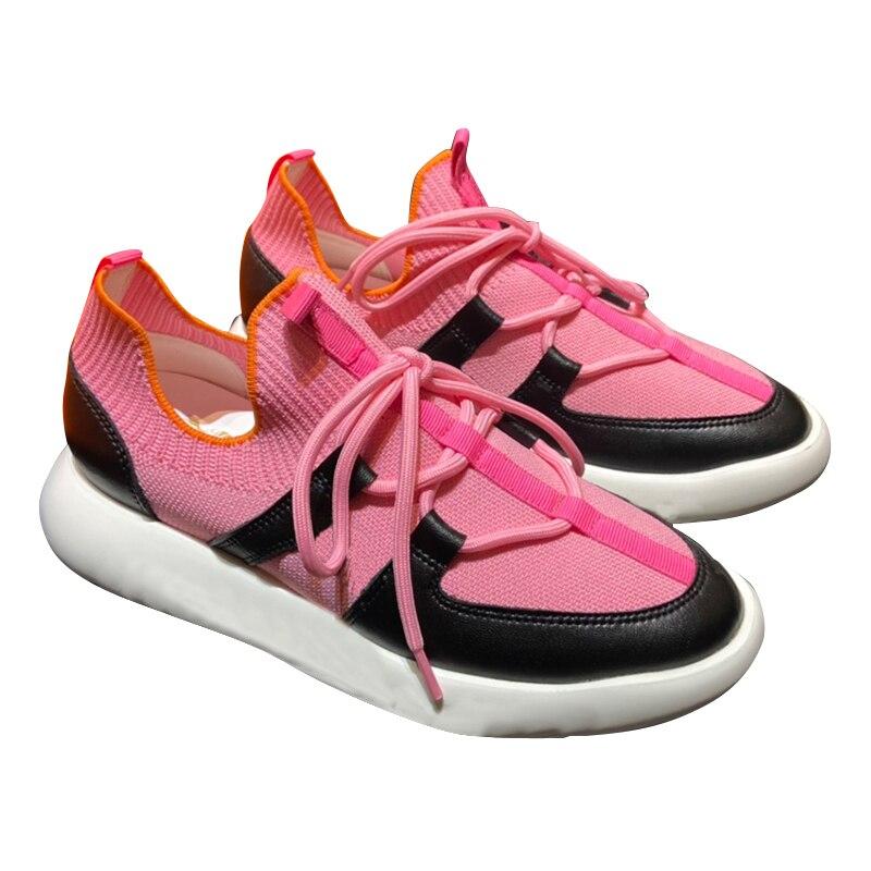 2022 فرانش Harisu أحذية نسائية ، أحذية رياضية ، تحلق شبكة منسوجة تقسم رئيس الجلود ، الأصلي عالية الجودة ، مع صندوق كيس لجميع الغبار