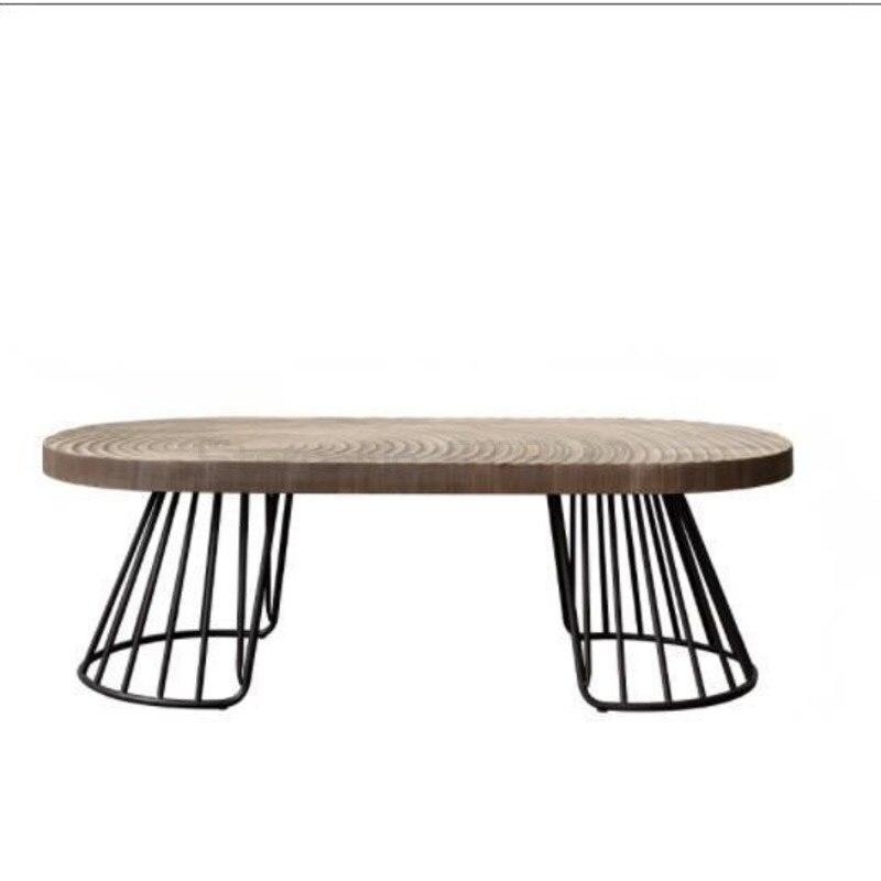 اليابانية الإبداعية خشبية طاولة شاي مستديرة شمال أوروبا بسيطة جدا الرجعية حلقة المنزل البقاء منخفضة الجدول