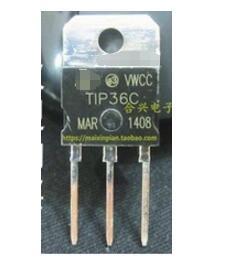 Frete Grátis 10 pçs/lote TIP36C TIP36 PODER TRANSISTOR PNP 100V 25A PARA-247.