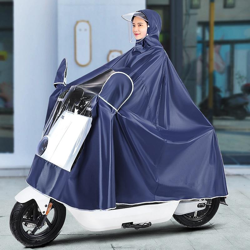 Motorcycle Overall Raincoat Women Travel Long Bicycle Cute Raincoat Women Fashion Antipioggia Moto Household Merchandises AG50YY enlarge