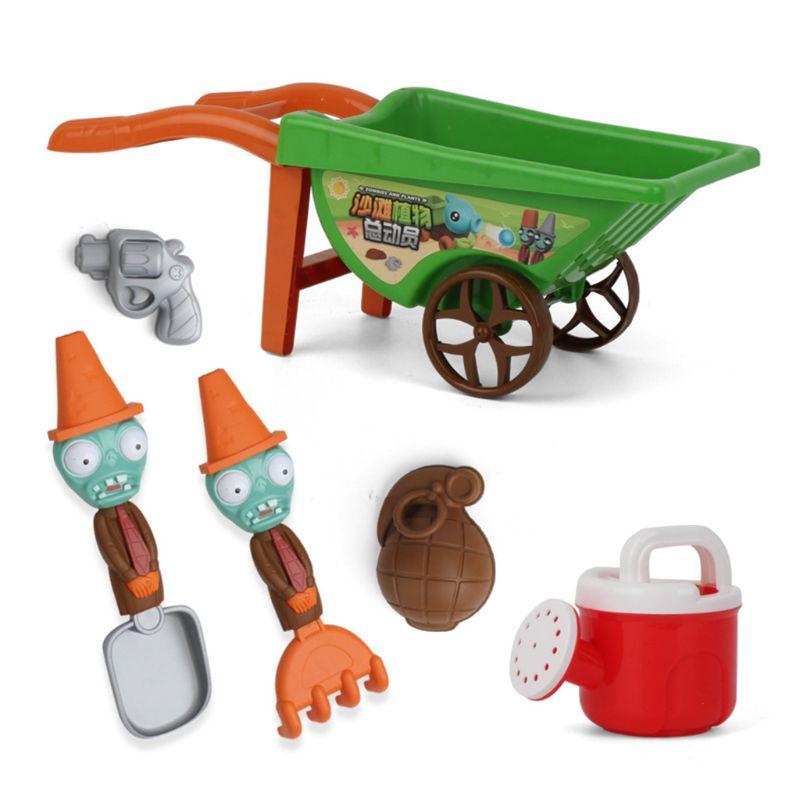 7 шт., детские летние игрушки-тачки для пляжа