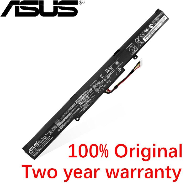 ASUS оригинальные 3150 мА/ч, A41N1611 A41LP4Q Аккумулятор для ноутбука ASUS ROG STRIX GL753V GL752VW FX53VD 14,4 V 48Wh
