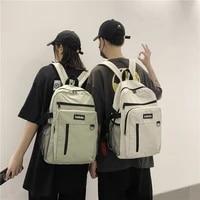 backpack women backpack fashion women shoulder bag solid color school bag for teenage girl children backpacks travel bag