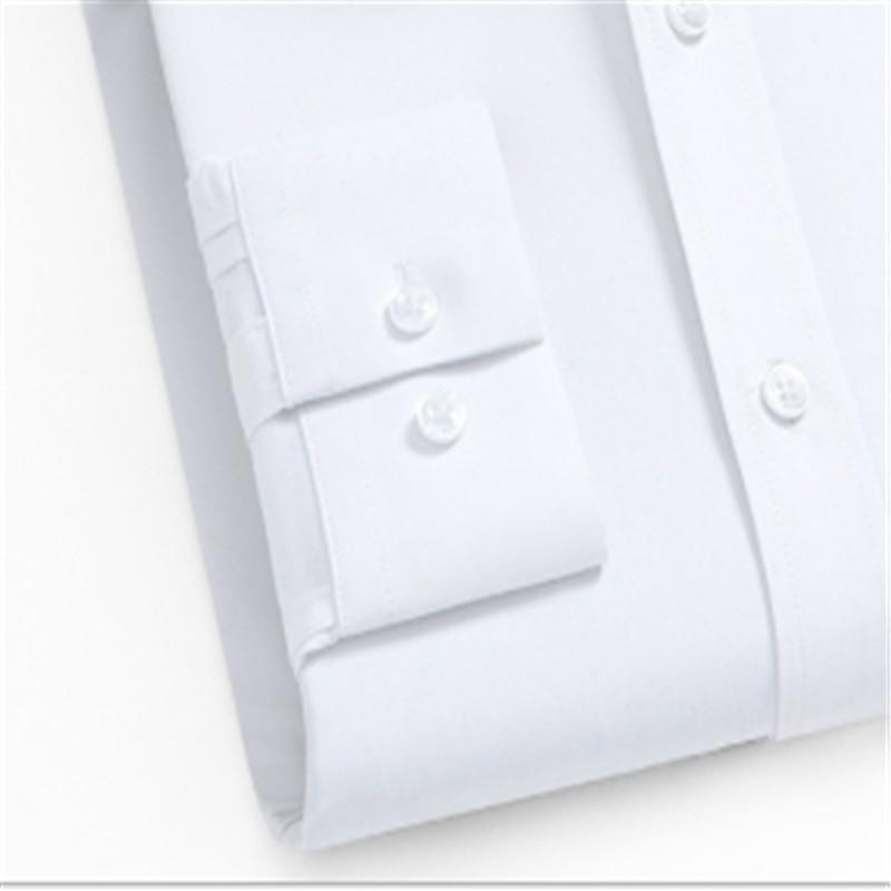 Men's Business White Long Sleeve Shirt Fashion 2020 Blusas Blouse Camisa Masculina Bluzki Bluzka Koszula Chemise Longue Slim Fit