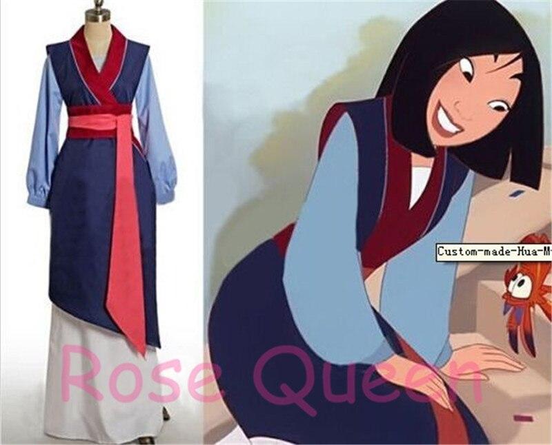 Nuevo Halloween Hua Mulan vestido de princesa Cosplay etapa por encargo envío gratis
