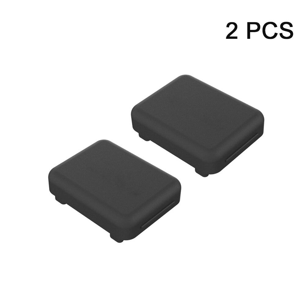 2 uds Protector impermeable previene la oxidación accesorios de la Cámara cubierta protectora de silicona cubierta polvo enchufe para lente Insta360 ONE R