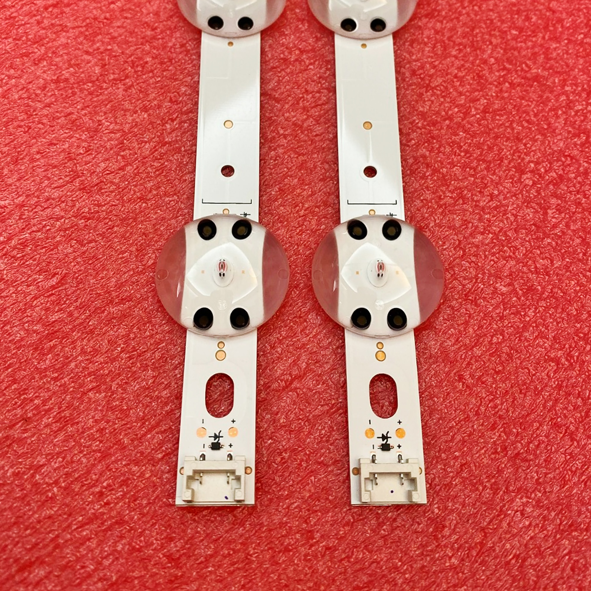 660 milímetros tira conduzida luz de fundo para LG 32LJ610V 32LJ510V 32LJ510U HC320DXN-ABSL1-2143 LC320DXE (FK)(A2) 6916L-2855B 32 V17 ART3 2855