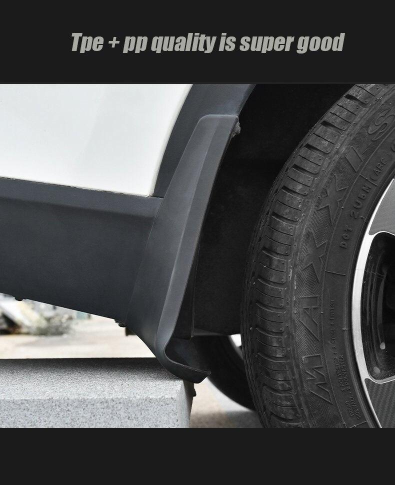 Mudflaps FOR Land Cruiser LC70 Mudguards Fender Mud Flap Guard Splash Car Accessories Auto Styline Front Rear 4pcs 2004 -2007
