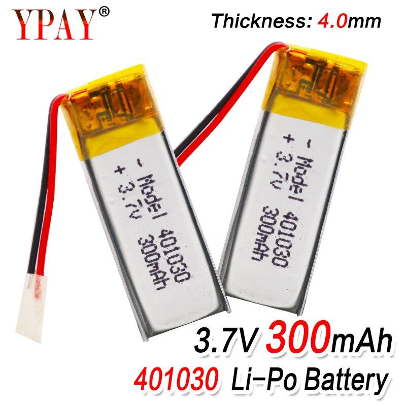 3,7 V 300mAh 401030 Lithium-Polymer Li-Po li ionen Akku Für MP3 MP4 MP5 GPS DVD tablet Bluetooth kamera Lipo zelle