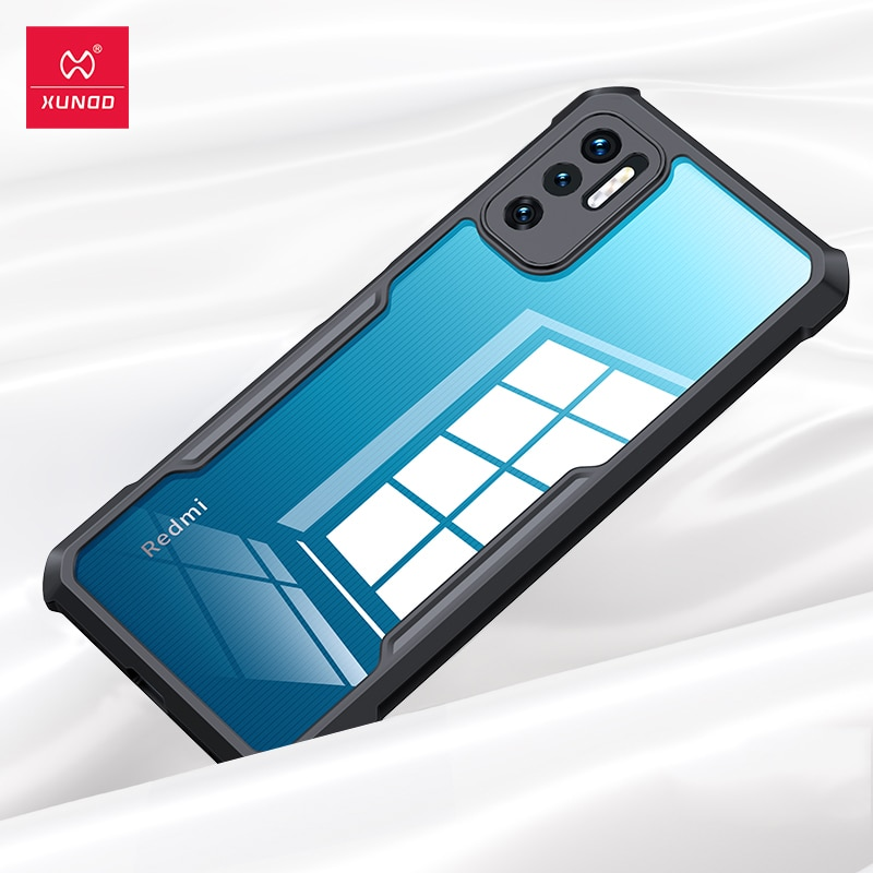 Xundd Phone Case For Redmi Note 10T 5G Case Shockproof Protective Bumper Cover For Redmi Note 10 T Pro 5G Cover Transparent
