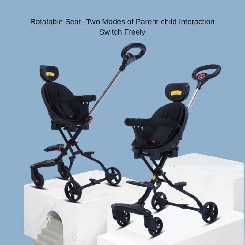 Baby Lightweight Stroller for Summer High Landscape Kids Portable Carriage Children Baby Cart Collapsible Light Travelling Pram enlarge
