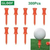 300pcs10set golf tees holder ball nail sporting training aids outdoor plastic golf training supplies plastic ball stud nail
