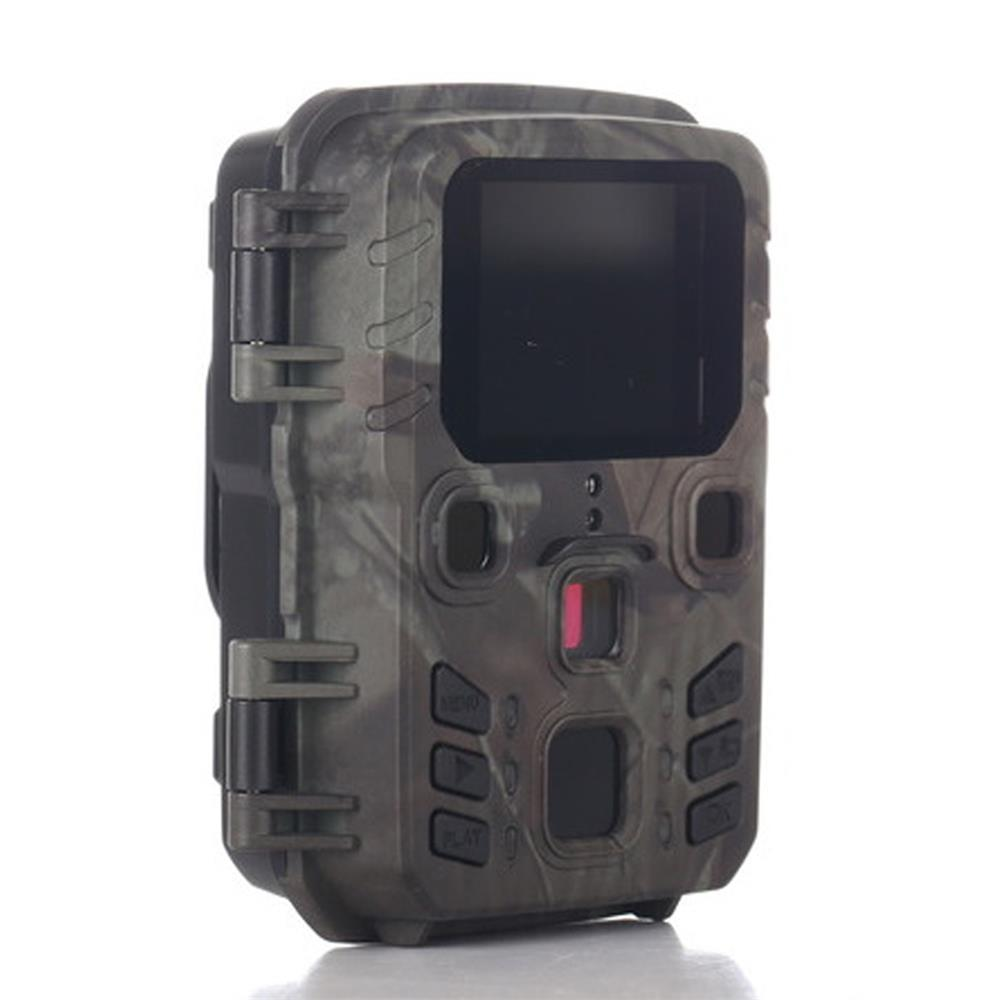 mini trail game camera night vision 1080p 12mp waterproof hunting camera outdoor wild photo traps with ir leds range up to 65ft Wireless Track Camera Waterproof Camera 12MP 1080P IR Night Vision Photo Traps Camera For Outdoor Hunting, Scouting Surveillance