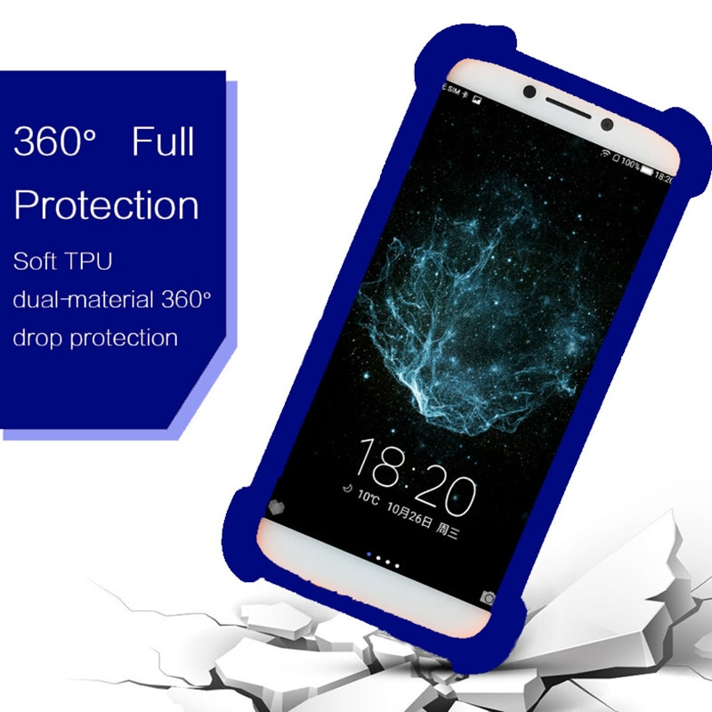 Case For Sharp R1 R1S Android One S5 Universal Soft Silicone Elastic Bumper Phone Cover Case For Sharp FS8009 4G LTE Phone Cases
