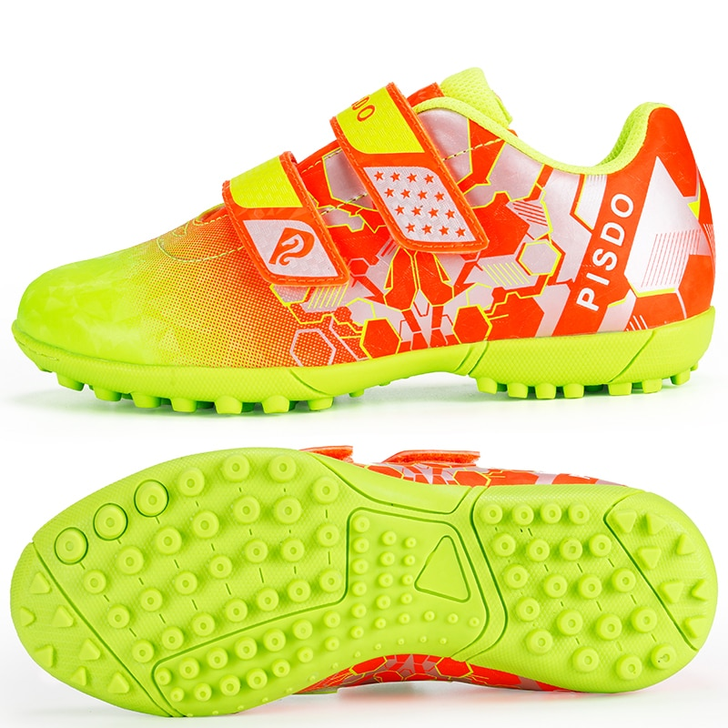 Kids Soccer Shoes Indoor Training Brand Football Sneakers Boys Turf Soccer Cleats Athletic Outdoor Fustal Hombre Children Shoes