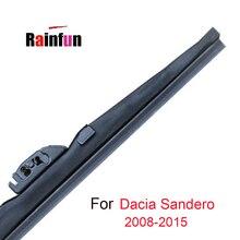 RAINFUN-balai dessuie-glace pour DACIA SANDERO MK1 MK2 2008-2015