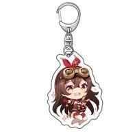 anime genshin impact acrylic keychain%c2%a0delicate craft%c2%a0mengpa key chain delicacy bag pendant small trinket key ring gift for boy