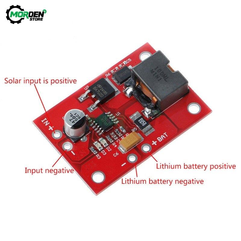 1S MPPT Solar Panel Controller 6V / 9V / 12V 3A Solar Power Manager Module 18650 Lithium Battery Charging 3.7V CN3791 Dropship