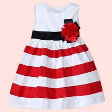 Baby Dress For Girl Summer Baby Clothes Toddler Girl Dresses Toddler Kids Baby Girl Stripe Casual Sk