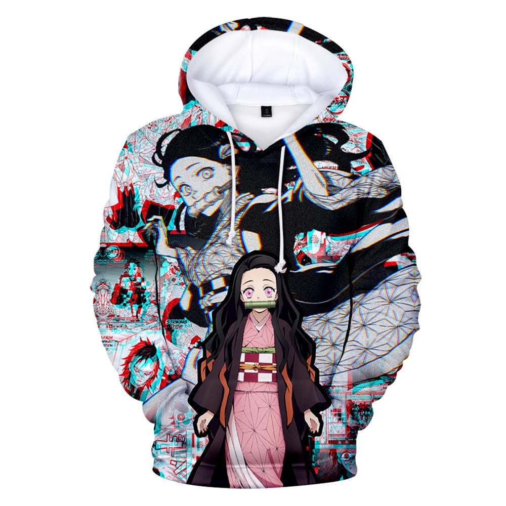 Mann kleidung Japanischen Anime Hoodie übergroßen mens hoodies männer sweatshirt Kimetsu keine Yaiba harajuku kleidung homme hombre