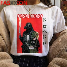 Cool Anime Dorohedoro Harajuku T-shirt Men Unisex Funny Cartoon Graphic Tshirt Manga Vintage 90s T Shirt Streetwear Top Tee Male