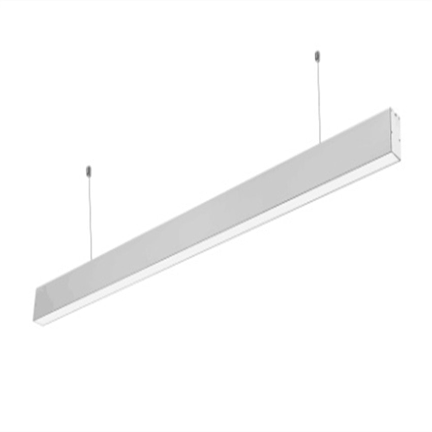 Free Shipping 1.2m 30w 1.5m 40W Hanging Linkable Streamline LED Linear Residential Lighting with suspended wire and connectors enlarge