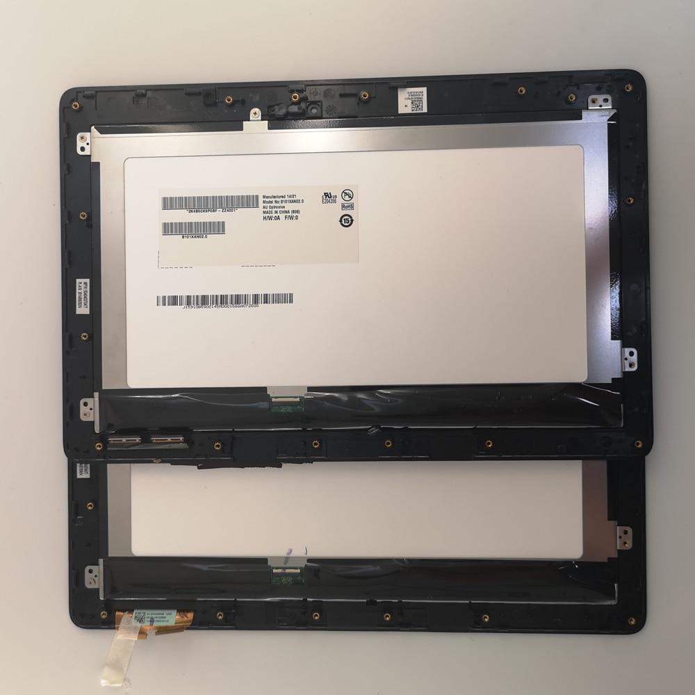Peças usadas de 10.1 POLEGADAS Matrix Display LCD Touch Screen Digitador com frame Para Asus VivoTab Inteligente T100TA T100 T100TAF trabalho multa