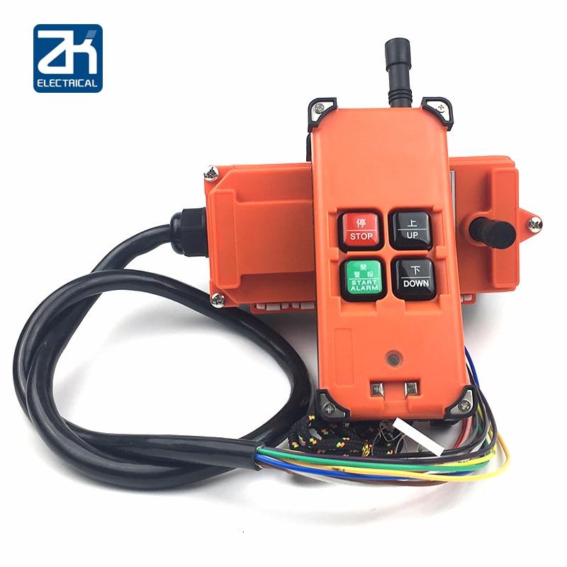 4 مفاتيح تحكم عن بعد للرافعة العلوية ، راديو لاسلكي عالمي ، Ac/Dc12V 24 V 110V 220V 380V