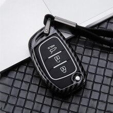Zinc alloy Car Remote Key Case Cover For Hyundai Tucson Creta ix25 i20 i10 ix20 Verna Mistra Elantra Sonata 2016 2017 2018 2019