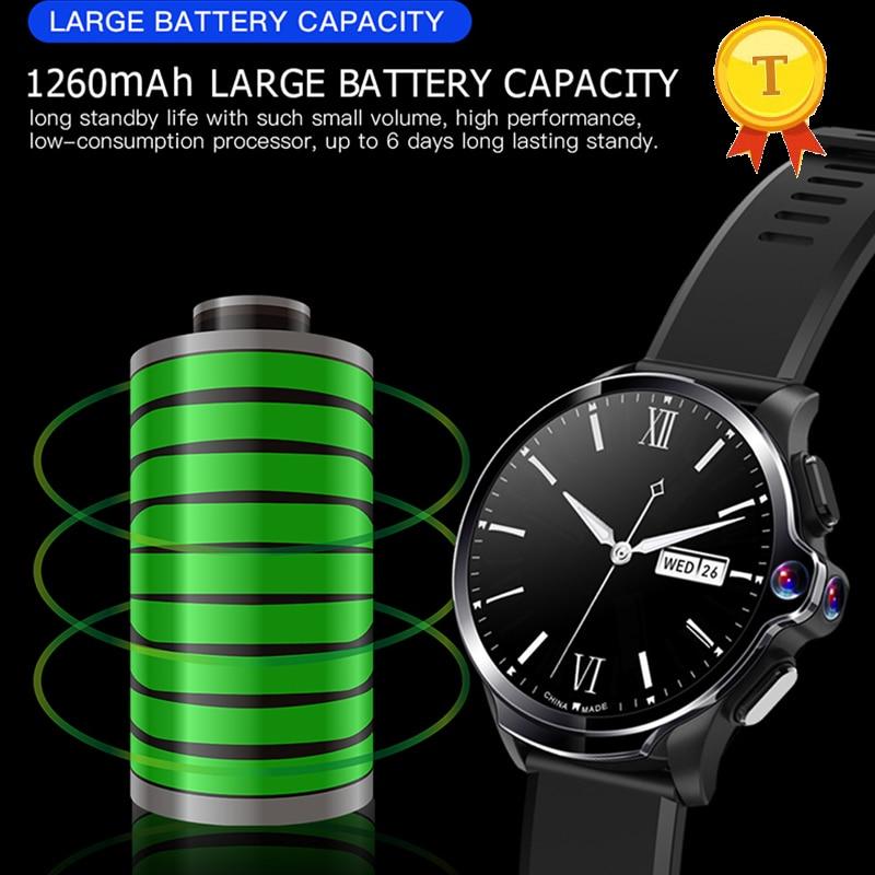 Neue ankunft mann frau 1GB 16GB 32gb Smart Uhr hd Kamera big batterie 1260mAh 4G GPS wifi Bluetooth smartphone uhr mit sim