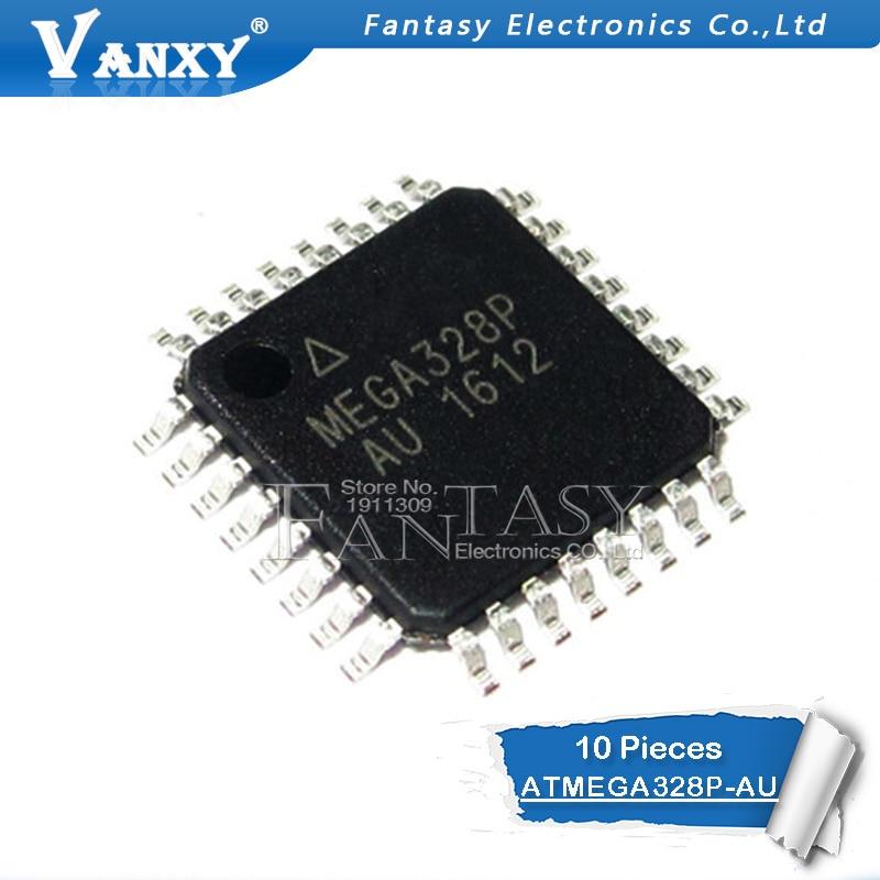 10 قطعة ATMEGA328P-AU QFP ATMEGA328-AU TQFP ATMEGA328P MEGA328-AU SMD جديدة ومبتكرة IC