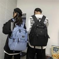 men and women fashion nylon backpack 2021 japanese high quality backpack students school backpack travel bag yoshida bags