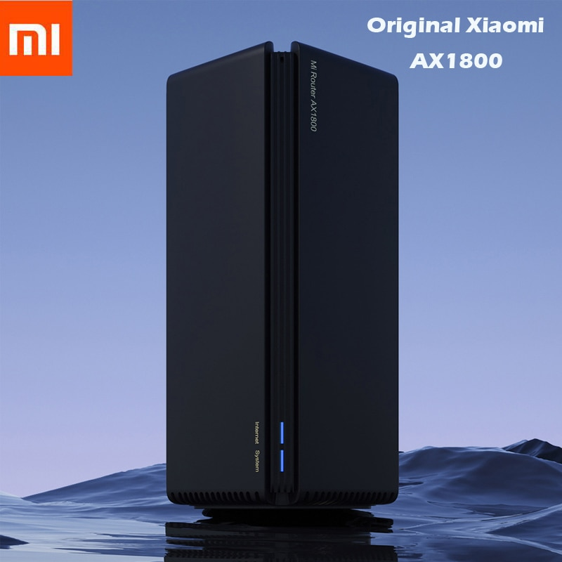 Xiaomi Router AX1800 Wifi6 Gigabit 2,4G 5GHz 5-Core Dual-Band-router OFDMA High Gain 2 antennen Breiter Mi Router AX1800