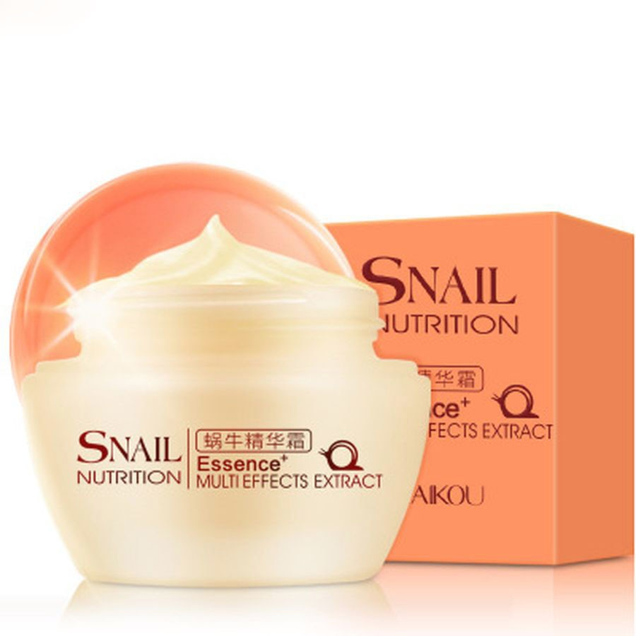 50g Snail Cream For Face Essence Facial Serum Whitening Cream Moisturzing Anti Aging Wrinkle Face Cream Oil Control Skin Care недорого