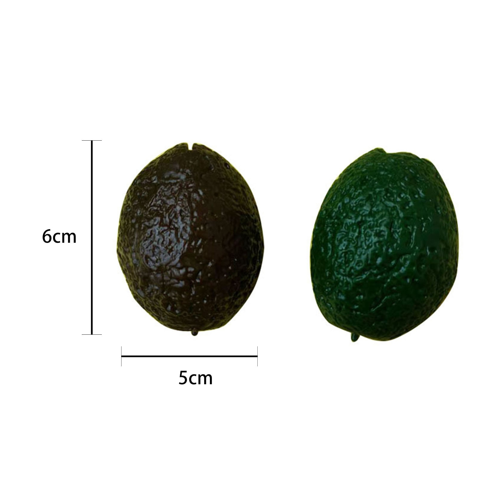 12PCS Novelty Stress Ball Avocado Pinch Toy Decompression Stress Relief Fun Toy High-quality Washing Resistance Fun Toy For Kids enlarge