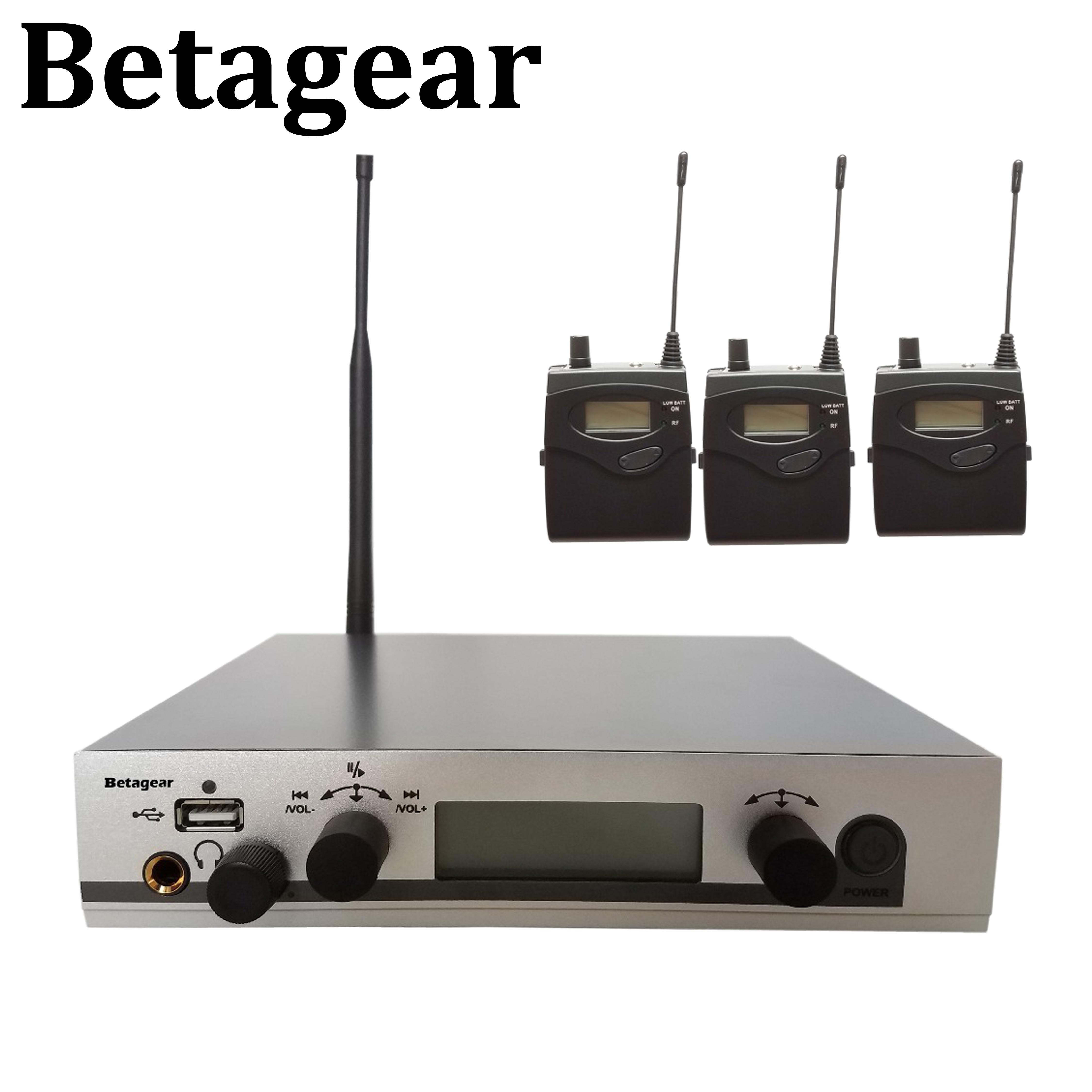 Betagear-نظام مراقبة داخل الأذن ، 300IEM G3 SR300 IEM ، مراقب شخصي ، نظام لاسلكي داخل الأذن ، صوت احترافي